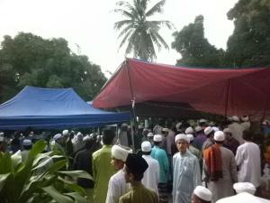 Gambar hari al-Marhum Tuan Guru Hj Hashim meninggal dunia
