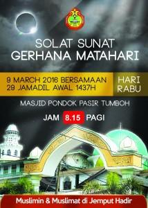 Poster Solat Sunat Gerhana